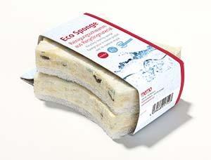 Jemná špongia z recykl.materiálov