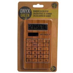 Kalkulačka z bambusu