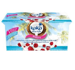 Kokosový jogurt Koko - malinový