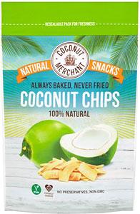 Kokosové chipsy Coconut Merchant