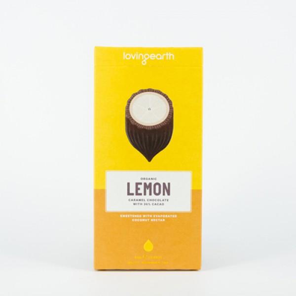 RAW čokoláda - citrón