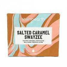 Tmavá čokoláda so slaným karamelom