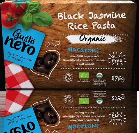 Kolienka z čiernej jazmínovej ryže