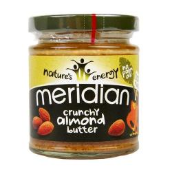 Mandľové maslo chrumkavé Meridian