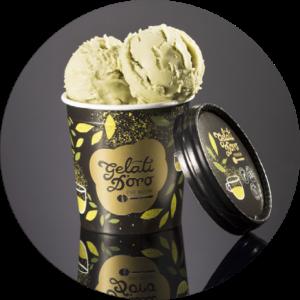 Zmrzlina s čajom Matcha - Gelati d´Oro