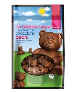 Čokoládové medvedíky bez cukru