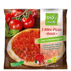 Mini pizza 3 ks mrazená