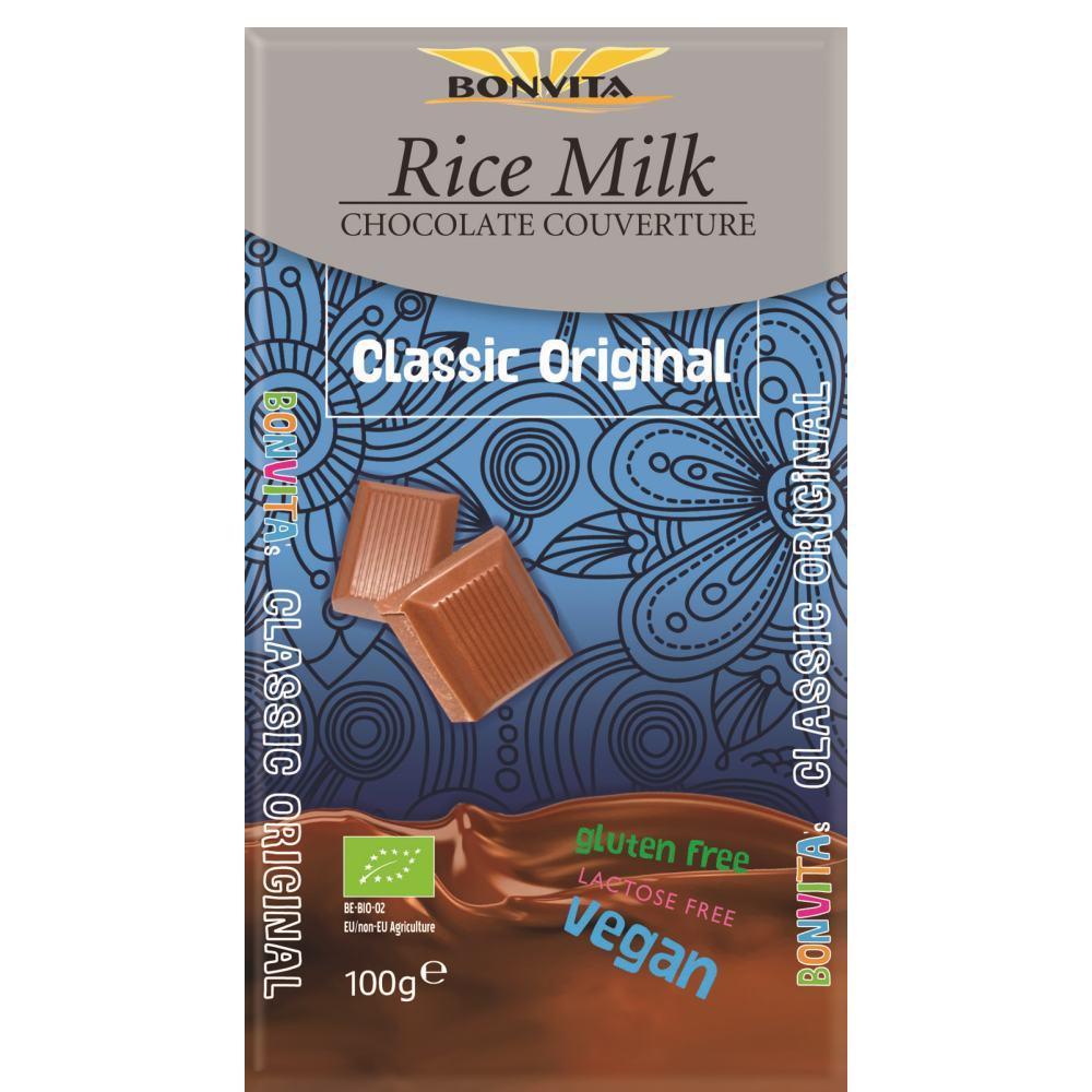 Čokoláda z ryžového mlieka