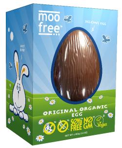 Veľkonočné vajíčko Moo free
