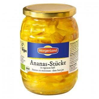 Ananásové kúsky v šťave