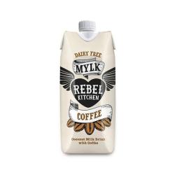 Kokosový nápoj s kávou