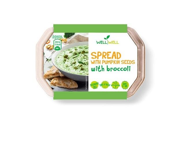 Nátierka z tekvic. semienok, brokolica