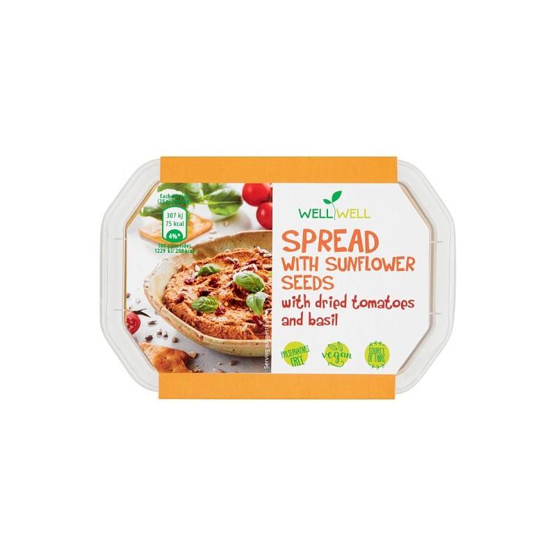Nátierka paradajka, bazalka