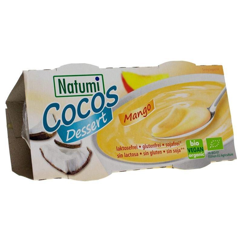 Kokosový dezert - mango