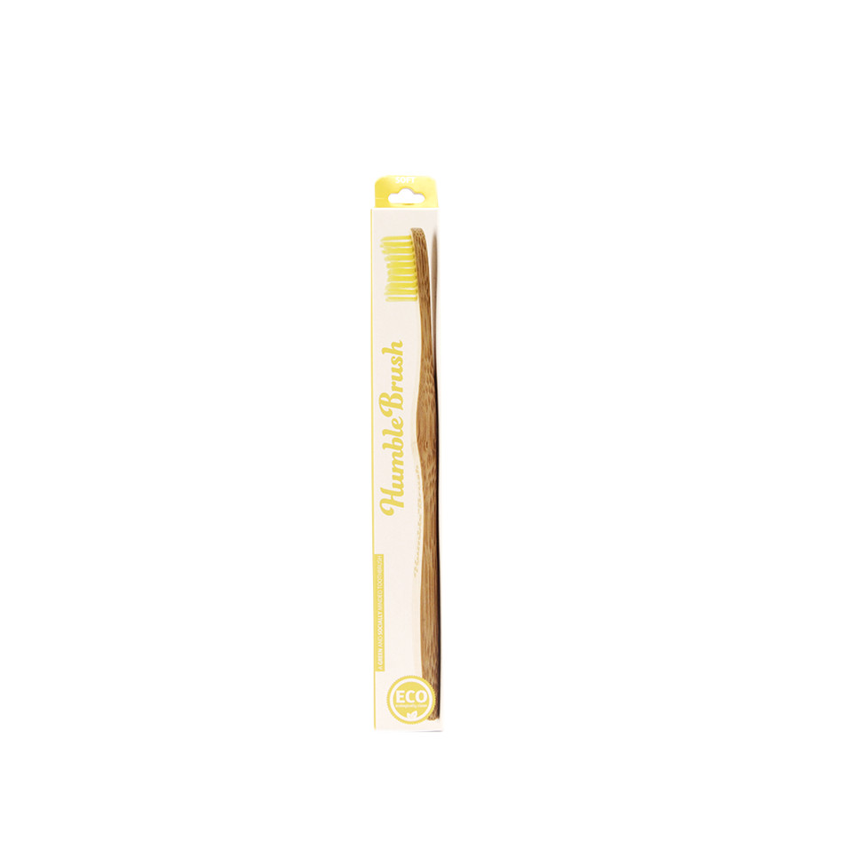 Zubná kefka žltá - soft