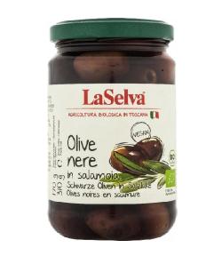 Čierne olivy v slanom náleve