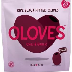 Čierne olivy s chilli a cesnakom