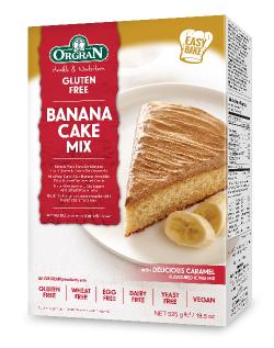 Banánový koláč s karamelovou polevou
