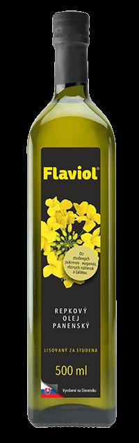 Repkový olej panenský