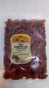 Chilli papričky sušené celé