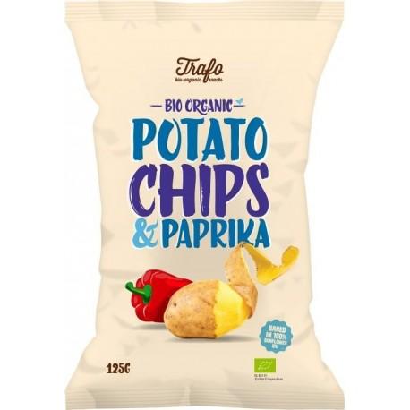 Chipsy paprikové 125 g