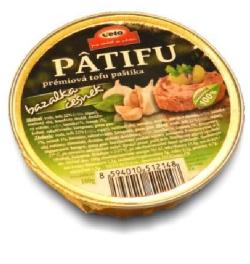 Patifu bazalka a cesnak