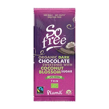 Čokoláda sladená kokosovým cukrom
