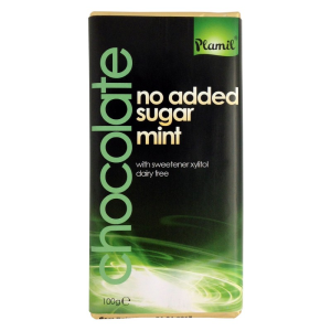 Čokoláda bez cukru mätová 100g