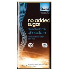 """Čokoláda bez cukru """"mliečna"""" 100g"""