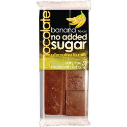 Čokoláda bez cukru banánová