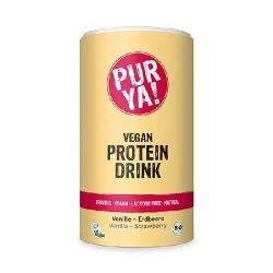 Proteínový nápoj - vanilka a jahody