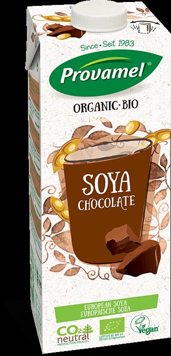 Sójovo-čokoládový nápoj