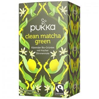Zelený čaj  matcha s citrónom