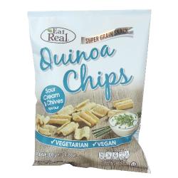 Quinoa chipsy smotana,pažítka 80 g