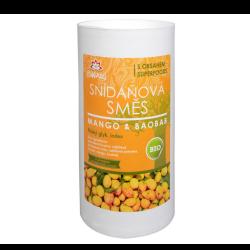 Raňajková zmes mango a baobab