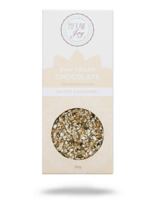 RAW čokoláda slaný karamel