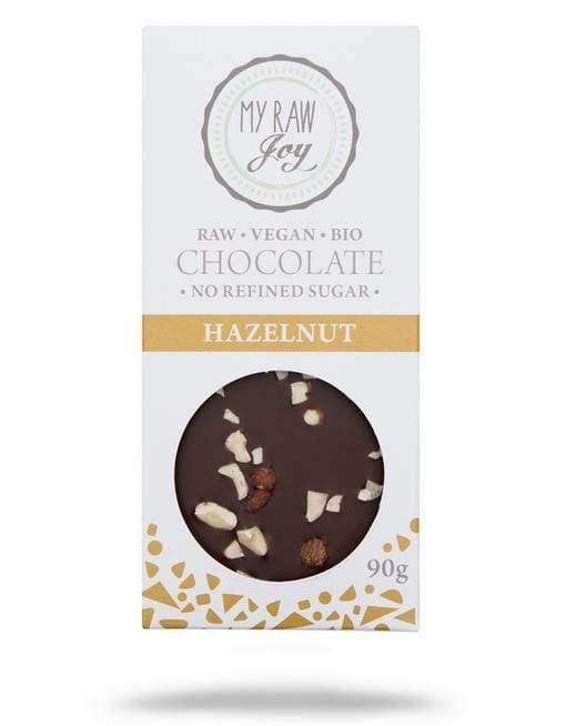 RAW čokoláda lieskovce