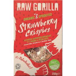 Raňajková zmes Raw Gorilla - jahoda