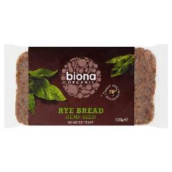 Ražný chlieb s konopnými semienkami