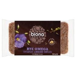 Ražný chlieb krájaný - omega 3