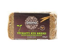 Ražný chlieb krájaný - vitality