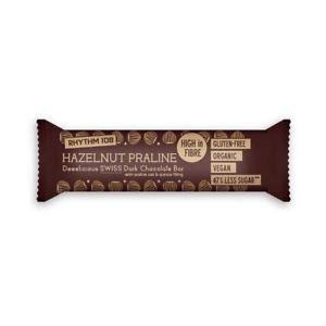 Nugátová tyčinka v tmavej čokoláde