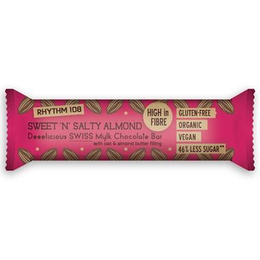 Čokoládová tyčinka slané mandle