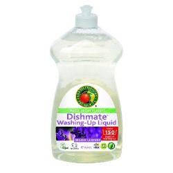 Umývanie riadu s vôňou levandule
