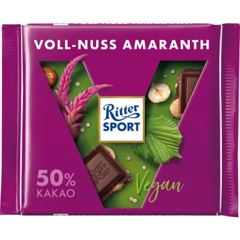 Čokoláda lieskovce, amarant
