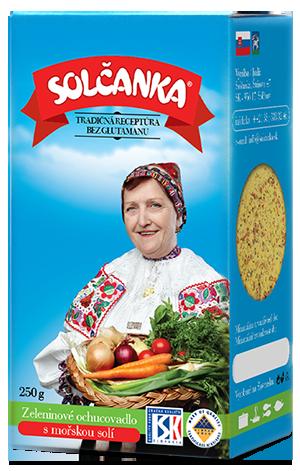 Zeleninové ochucovadlo Solčanka