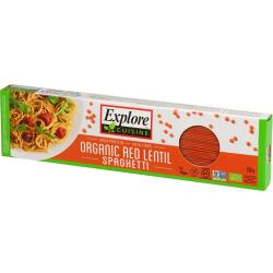 Špagety z červenej šošovice