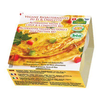 Náhrada vajíčka na omeletu