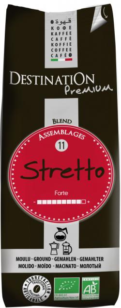Mletá káva Stretto
