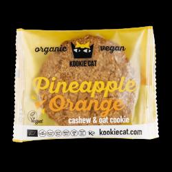 Bezlepkový cookie - ananás, pomaranč